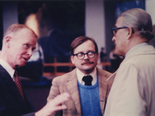 Fred Durant, Tom Crouch and Werner Von Braun