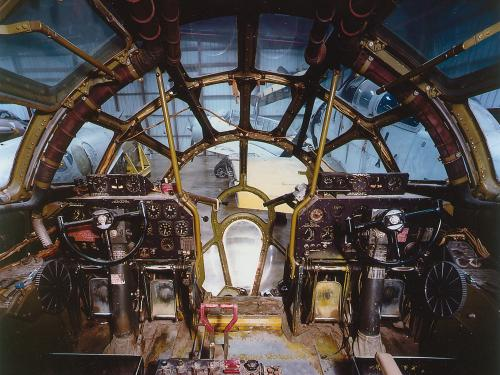 Cockpit of Boeing B-29 Superfortress Enola Gay