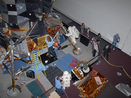 Lunar Module Restoration From Above