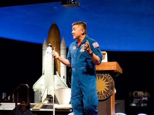 Astronaut Dan Tani