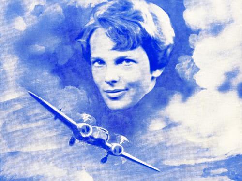 Amelia Earhart's Last Flight Sheet Music Cover