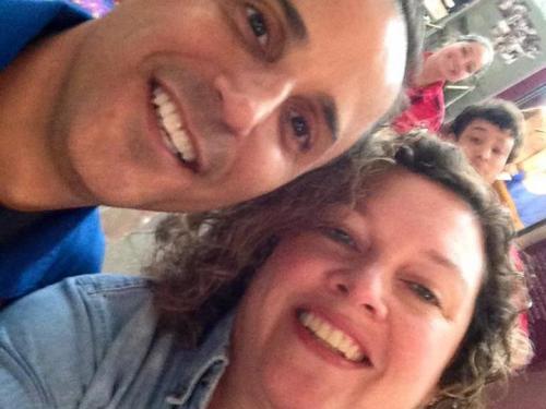 Selfie with Astronaut Joe Acaba