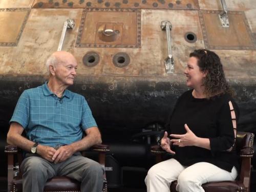 Interviewing Apollo Astronaut Michael Collins