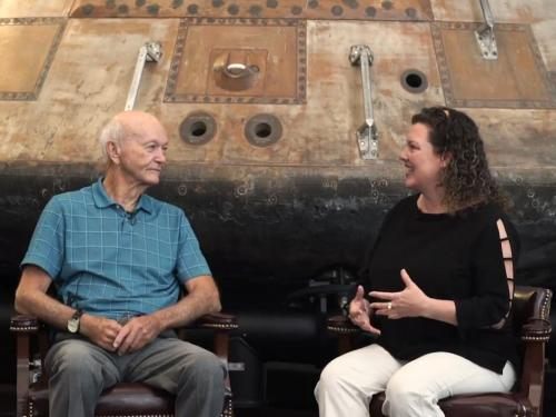 Interviewing Apollo Astronaut Michael Collins