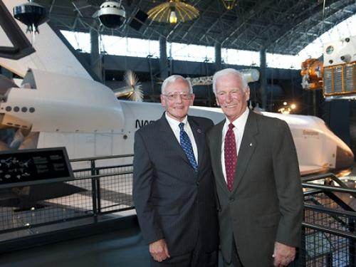 Gen. Dailey and Capt. Cernan