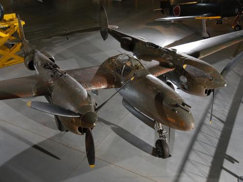 Lockheed P-38J-10-LO Lightning