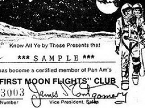 """Were You a Member of the """"First Moon Flights"""" Club?"""