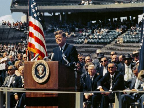 John F. Kennedy at Rice University