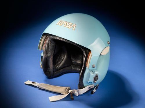 Sally Ride's Aviator Helmet, Sally K. Ride Collection