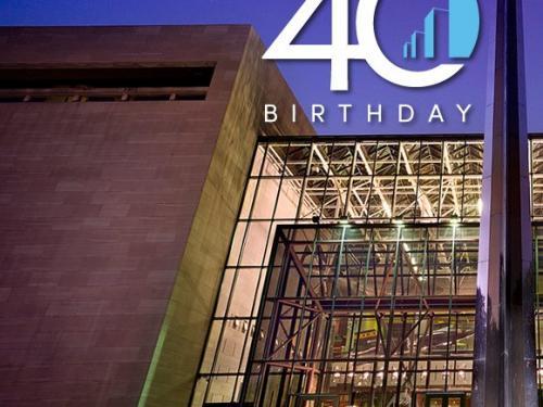 40 Anniversary Icon