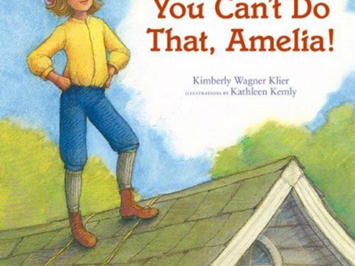Book Cover: You Can't Do That Amelia