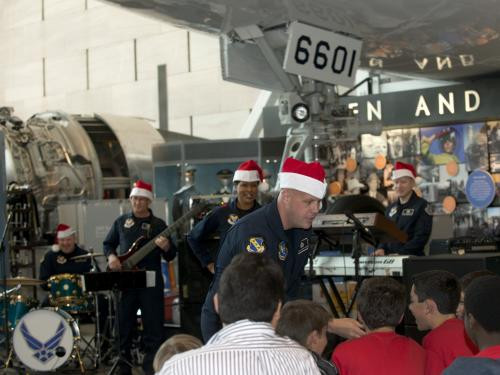 U.S. Air Force Band Performs at the Museum