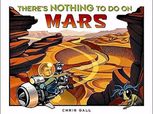Book Cover: There's Nothing to Do On Mars