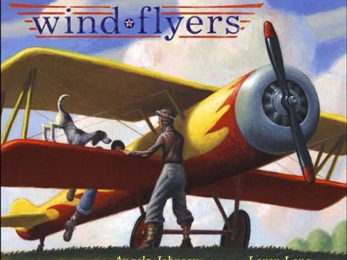Book Cover: Wind Flyers by Angela Johnson