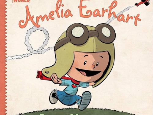 Book Cover: I am Amelia Earhart