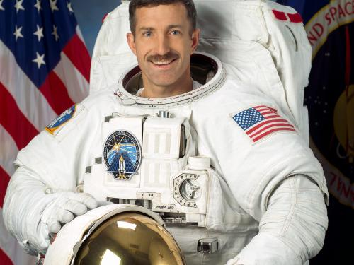 Astronaut and Coast Guard Captain Daniel Burbank