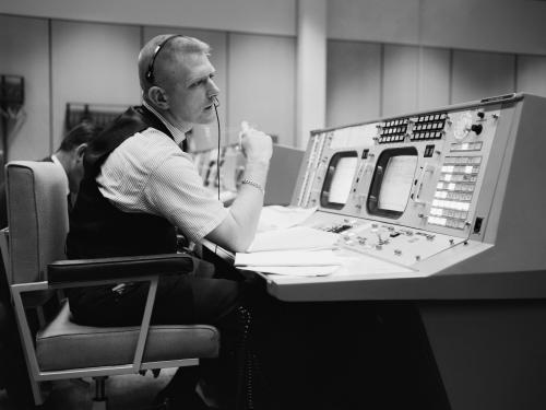 Gene Kranz at Console