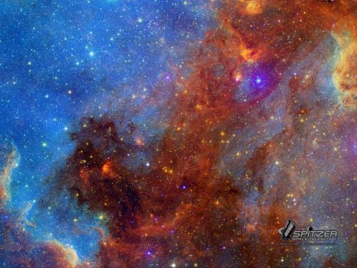 North America Nebula in Different Lights