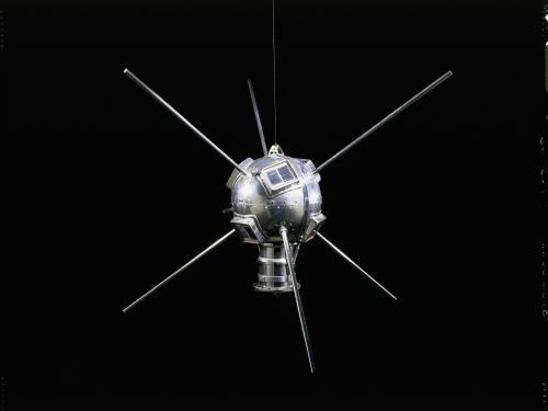 Replica of the Vanguard 1 Satellite
