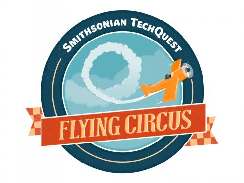 Smithsonian TechQuest: Flying Circus logo