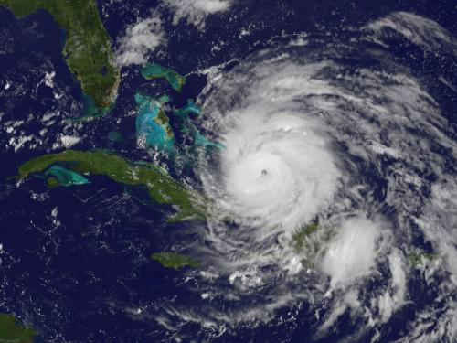Hurricane Irene from GOES-13 Satellite