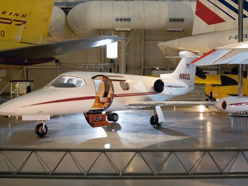 Lear Jet Model 23 at the Udvar-Hazy Center