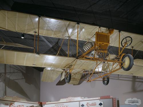 """Curtiss Model D """"Headless Pusher"""""""