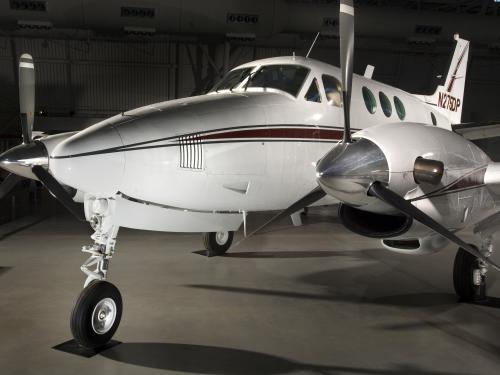 Beechcraft King Air at the Udvar-Hazy Center