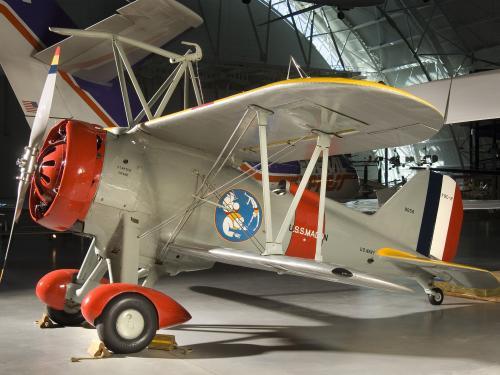 Curtiss F9C-2 Sparrowhawk at the Udvar-Hazy Center