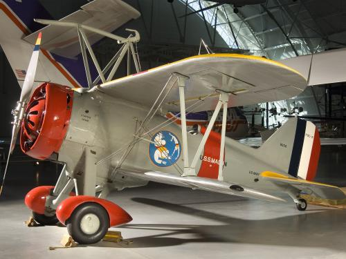 Curtiss F9C-2 Sparrowhawk at the Udvar-Hazy Center