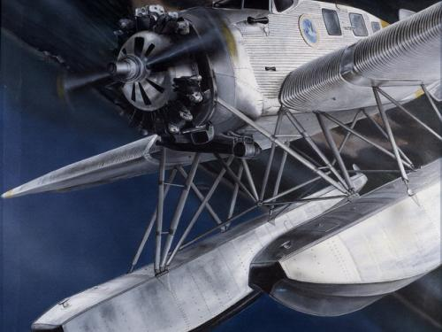 Junkers W-34, 1930, by Peter Lautenslager