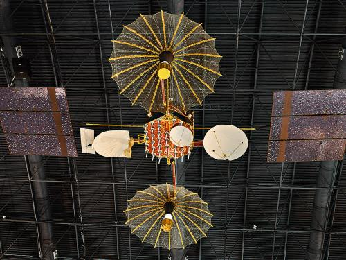 Tracking and Data Relay Satellite at the Udvar-Hazy Center