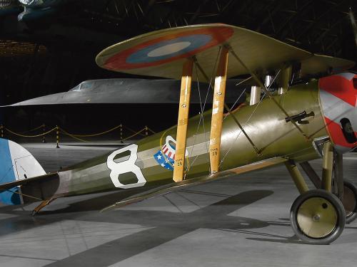 Nieuport 28C.1 at the Udvar-Hazy Center