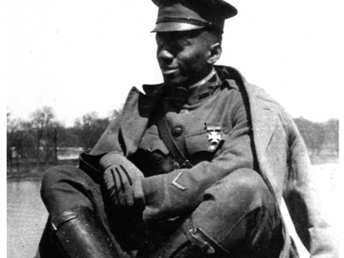 William J. Powell in 1917
