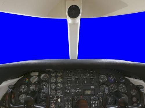 Lear Jet 23 Panorama