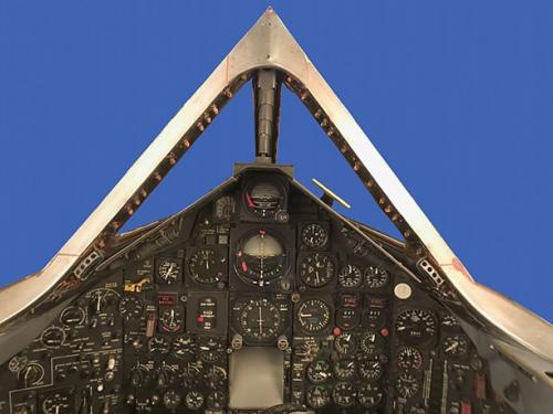 Lockheed SR-71 Blackbird Panorama