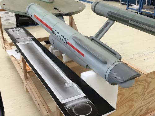 Studio Model with X-ray Composite