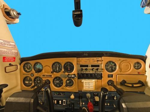 Panoramic photograph of Cessna 152 Aerobat