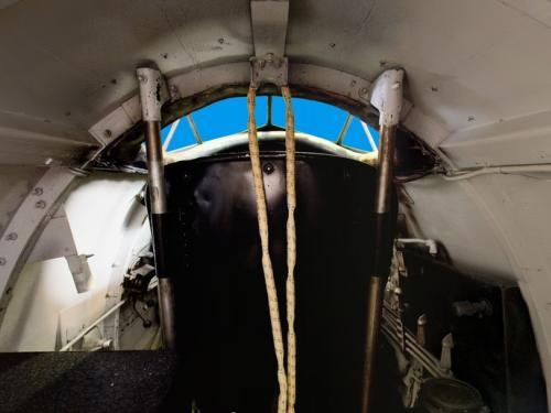 Lockheed Sirius Rear Cockpit Panorama