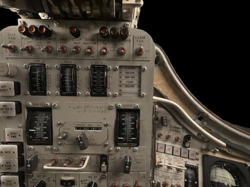 Panoramic photograph of Gemini VII