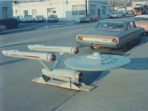 "Starship ""Enterprise"" Model in 1964"