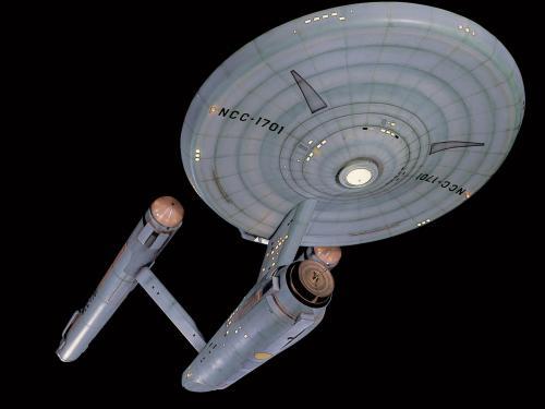 Star Trek starship Enterprise Studio Model