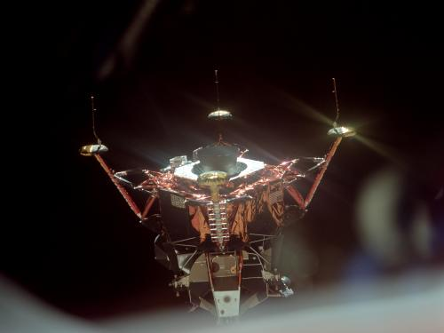 Apollo Lunar Module Descent