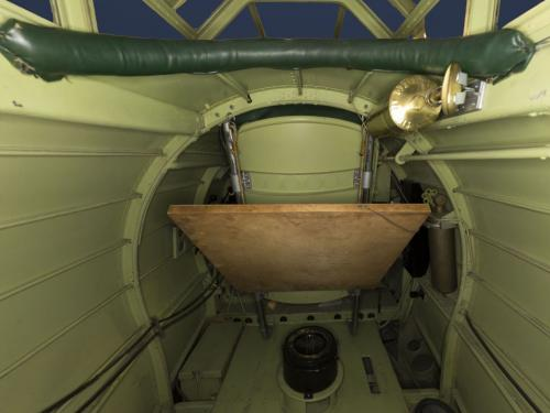 "Interior view of the Northrop Gamma ""Polar Star"" cargo bay"