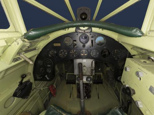 "Interior view of the Northrop Gamma ""Polar Star"""