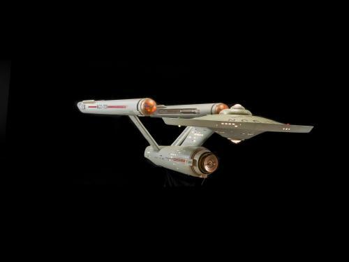 """""""Star Trek"""" Starship Enterprise model (A19740668000), Post Conservation"""