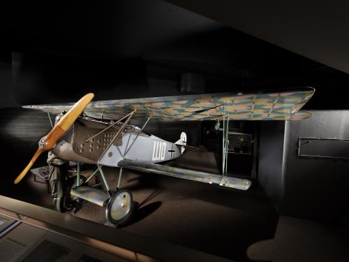 Fokker D.VII at the Museum