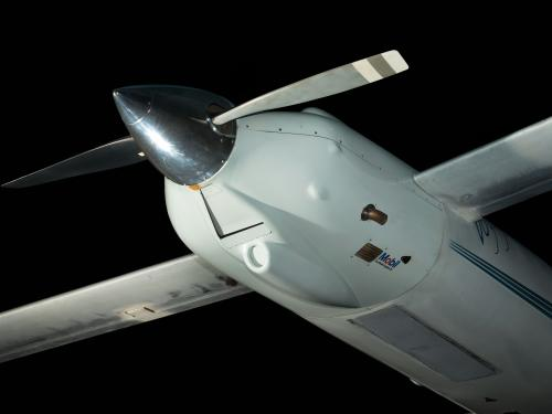 Image showing the Rutan Voyager Body