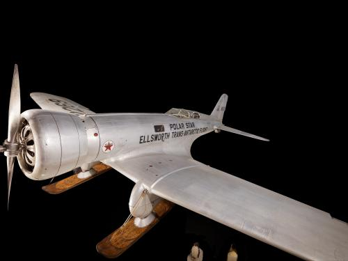 "Northrop Gamma 2B ""Polar Star"" at the Museum"