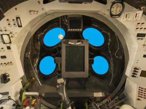 Interior of SpaceShipOne